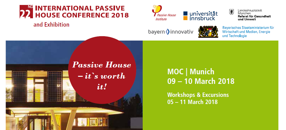 22° Conferenza Internazionale Passive House