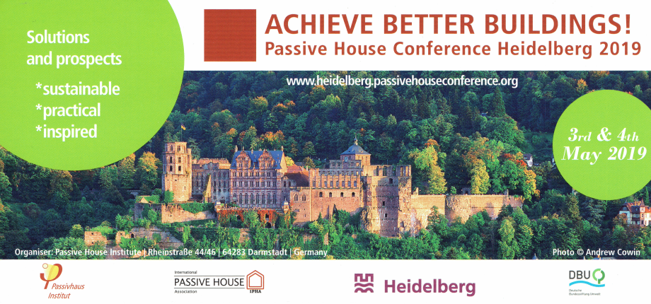 ACHIEVE BETTER BUILDINGS!                                                 03 - 04 Maggio 2019